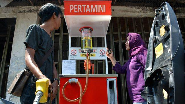 Peluang usaha rumahan - menjual bensin eceran pertamini A